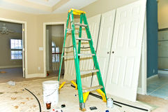 remodeling конструкции домашний нутряной стоковое фото