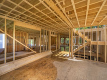Домашний интерьер remodeling Стоковое Изображение RF