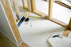 Remodeling Project Royalty Free Stock Photography