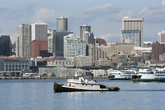 Remolcador en Seattle fotos de archivo libres de regalías