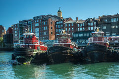 Remolcadores del puerto de Portsmouth Foto de archivo