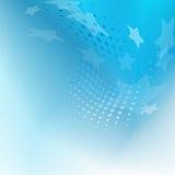 Remolino azul abstracto Libre Illustration