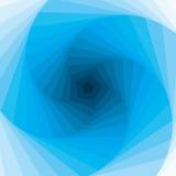 Remolino azul abstracto. Vector. Fotos de archivo libres de regalías