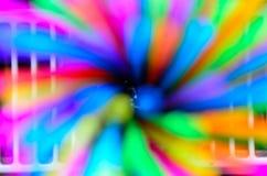 Remolino colorido de la paja Fotografía de archivo
