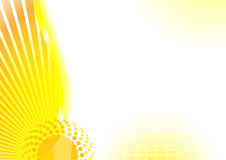 Remolino de gran alcance solar Ilustración del Vector