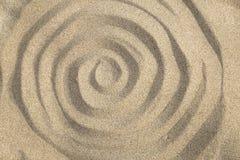 Remolino de la arena imágenes de archivo libres de regalías