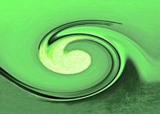 Remolino de la onda Imagenes de archivo