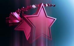 Remolino de las estrellas Fotografía de archivo libre de regalías