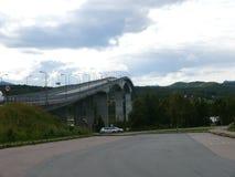 Remolino de Saltstraumen del paisaje de Noruega Imagen de archivo libre de regalías