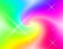 Remolino del arco iris Foto de archivo libre de regalías