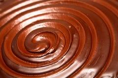 Remolino del chocolate Imagen de archivo libre de regalías