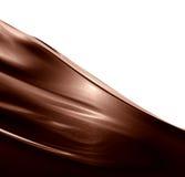 Remolino del chocolate Fotografía de archivo