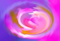 Remolino del corazón Ilustración del Vector