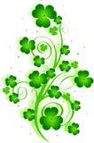 Remolino del día del St. Patrick Fotografía de archivo libre de regalías