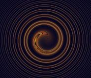 Remolino del fractal Foto de archivo