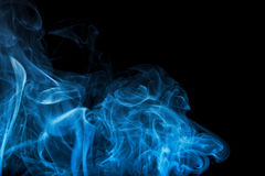 Remolino del humo Fotografía de archivo libre de regalías