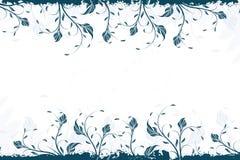 Remolino floral Bacground del vector libre illustration