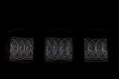 Remolino ligero abstracto Foto de archivo libre de regalías
