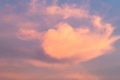 Remolino nublado Foto de archivo