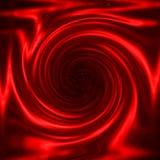 Remolino rojo metálico Fotos de archivo