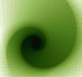 Remolino verde abstracto stock de ilustración