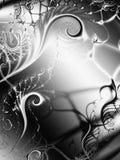 Remolinos únicos de las vides de las texturas ilustración del vector