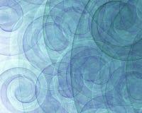 Remolinos abstractos del espiral Imagenes de archivo