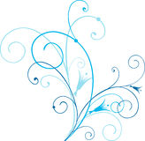 Remolinos azules Fotos de archivo libres de regalías