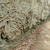 Remolinos de la piedra arenisca Imagen de archivo