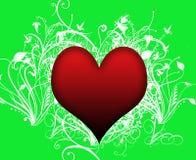 Remolinos del corazón Foto de archivo libre de regalías
