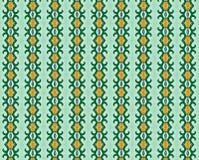 Remolinos del verde y fondo de oro de las tonalidades Imágenes de archivo libres de regalías