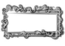 Remolinos frescos de la insignia del Web page stock de ilustración
