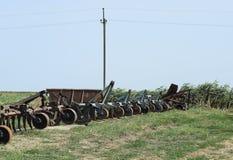 Remolque de enganche para los tractores y las cosechadoras fotos de archivo libres de regalías