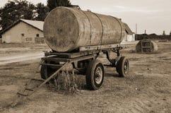 Remolque viejo del petrolero Fotos de archivo