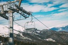 Remonte el día de invierno Fotos de archivo libres de regalías