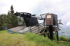 Remonte en de la estación. fotografía de archivo