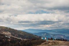 Remonte en las montañas Fotos de archivo libres de regalías