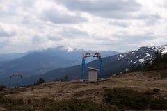 Remonte en las montañas Imagen de archivo
