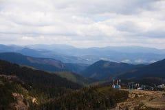 Remonte en las montañas Fotos de archivo