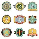 Remontowe Warsztatowe Retro odznaki