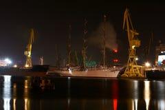remontowego statku wysoki poniższy Obraz Stock