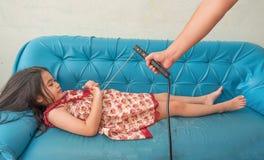Remontowy dzieciak dla mobilnych robotów , niemożliwy Zdjęcia Stock