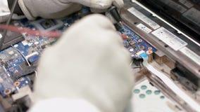Remontowy komputerowy procesor zbiory wideo