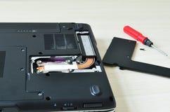 Remontowy laptop Obraz Stock