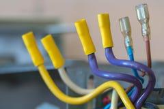 Remontowy pomocniczy źródło zasilania, kompresujący druty z terminalami dla związku amperage źródła obraz royalty free