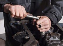 Remontowy samochodowy silnik Zdjęcie Stock