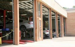 Remontowy sklep dla samochodów zdjęcia stock