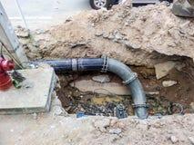 Remontowy system wodny Fotografia Stock