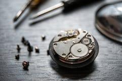 Remontowy zegarek zdjęcie stock