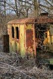 Remorque abandonnée Photos libres de droits